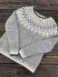 It's Icelandic Wool Month and I've booked a flight back to Iceland in May. This time I have a full week of exploring ahead and I'll be doing it in my Lopi sweater. I'll be putting all . Fair Isle Knitting Patterns, Sweater Knitting Patterns, Knitting Designs, Knit Patterns, Baby Knitting, Ravelry, Norwegian Knitting, Icelandic Sweaters, How To Purl Knit