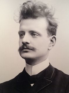 Jean Sibelius Finnish composer and violinist of the late Romantic and early-modern periods. Classical Music Composers, Great Thinkers, Putting On Makeup, Writers And Poets, Important People, Opera Singers, Photo Black, Interesting Faces, Famous Artists