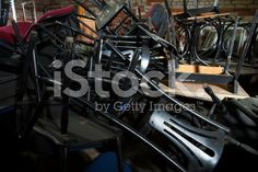 Old Chairs Magazine royalty-free stock photo
