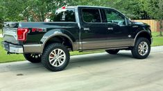 The Ford is a marvelous creation in and of itself, but that doesn't mean that some improvement isn't welcome. Ford F150 King Ranch, F150 Lifted, Police Cars, Police Vehicles, Toys For Boys, Boy Toys, Custom Trucks, Ford Trucks, Cars And Motorcycles