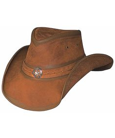 Bullhide Copper Creek Leather Hat available at #Sheplers