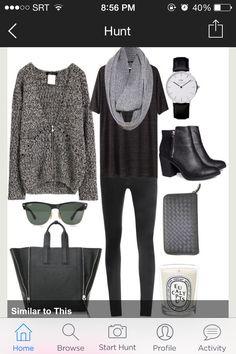 Grey/Black ensemble