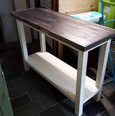 Pallet console table, TV stand, Media table, side table -- 40+ Dreamy Pallet Ideas to Reuse old Pallets | 99 Pallets - Part 2