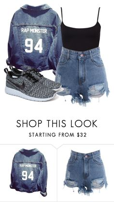 """23"" by dongoodleo ❤ liked on Polyvore featuring NIKE"