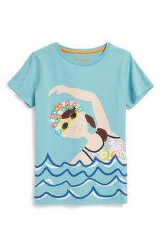 Mini+Boden+'Summer+Fun+Girl'+Graphic+Cotton+Tee+(Toddler+Girls,+Little+Girls+&+Big+Girls)+available+at+#Nordstrom