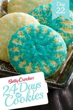 Double Sugar Cookies