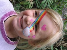 Facepaint - Rainbow by GraphiteGhost ...