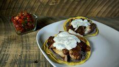 Tacos de poisson - Recettes de cuisine, trucs et conseils - Canal Vie Solution Gourmande, Quesadillas, Muffin, Pie, Favorite Recipes, Lunch, Portion, Cooking, Breakfast