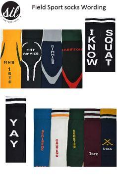 Field Sport socks Wording. #socksforafrica #thesockilove #sil Netball, Sport Socks, Rugby, Cycling, Soccer, Sports, Football, Hs Sports, Futbol