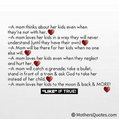 A mother's love I Love My Daughter, Love My Boys, Love Her, Mothers Of Boys, Mothers Love, Mom Quotes, Family Quotes, My Children Quotes, Word Poster