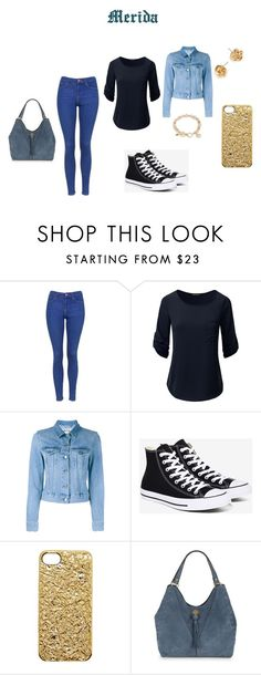 """""""Merida"""" by rileypult on Polyvore featuring Topshop, Acne Studios, Converse, Marc by Marc Jacobs, Nanette Lepore and Vera Bradley"""