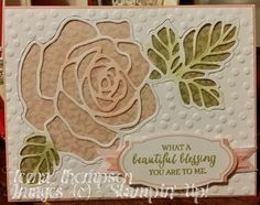 Rose Wonder Rose Garden Thinlits  by Teena Thompson (Alberta, Canada)