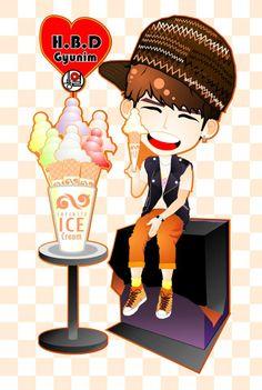 fanART Mr. Gyu HBD ^^