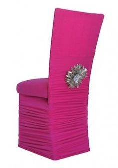 rent chair covers for wedding recycled plastic outdoor rocking chairs 43 best feather images wildflower linen chameleon hot pink stretch fabric or party events cover rentals