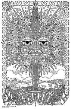 triptastic coloring pages | adult coloring pages nature | nature coloring pages for ...