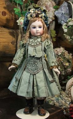 Bebes by Sayuri❤❤❤Reproduction doll.Beautiful Bebes by Sayuri❤❤❤Reproduction doll. Victorian Dolls, Antique Dolls, Victorian Dollhouse, Modern Dollhouse, Dollhouse Dolls, Miniature Dolls, Miniature Houses, Pretty Dolls, Beautiful Dolls