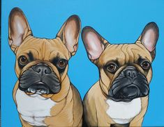 French Bulldog Painting by Jeroen Teunen, Frenchie , Französische Bulldogge. www.blackspecs.de Doge, French Bulldog, Best Friends, Gallery, Animals, Animais, Bestfriends, Animales, Animaux