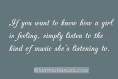 True for me. I speak most of my emotions through music not facial and body motions.