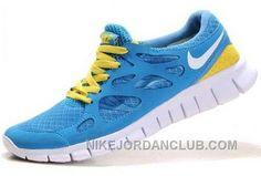 http://www.nikejordanclub.com/nike-free-run-2-mens-blue-yellow-white-shoes-afntn.html NIKE FREE RUN 2 MENS BLUE YELLOW WHITE SHOES AFNTN Only $74.00 , Free Shipping!