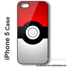 iPhone 5 Case Pokeball - Hard iPhone Cover Pokemon, Nerd, Phone Cases, Technology, Iphone, Cover, Accessories, Projects, Tech