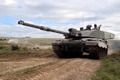 Britain's Challenger 2 tank (U.K. Ministry of Defense photo)