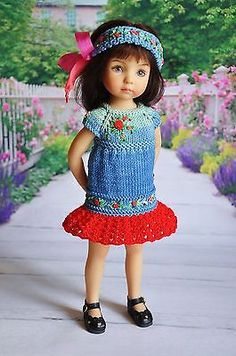 OOAK-OUTFIT-FOR-DOLLS-Little-Darlings-Effner-13. SOLD 4/10/15 for $77.00