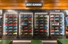 Our portfolio of retail design and production projects. Pos Display, Display Design, Booth Design, Visual Merchandising, Sales Promotion Tools, Nike Retail, Converse Shop, Shoe Store Design, Flyknit Lunar