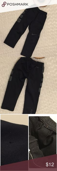 Nike Therma-Fit Sweats For Boys SZ 4 These sweats are preowned and gently used with wear (please see photos). Size 4. Color: Black. Nike Bottoms Sweatpants & Joggers