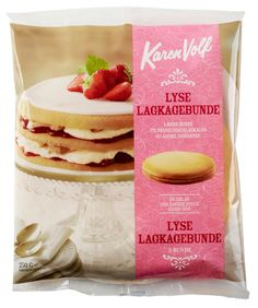 Har du prøvet vores klassiske lyse lagkagebunde? #karenvolf #lagkagebunde #klassiker