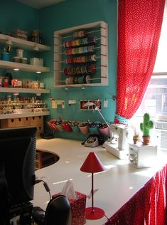 Fab office / craft / inspiration room