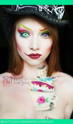 We're All Mad Here | Alexys F.'s (madeulookbylex) Photo | Beautylish