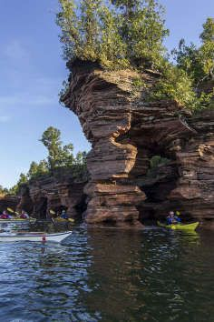 21 islands & 12 miles of mainland; road trip Wisconsin and the jewels(Apostle Islands) of Lake Superior