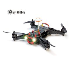 Eachine Racer 250 FPV #Drone Built in 5.8G #Transmitter OSD With HD Camera ARF Version