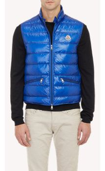 Moncler Down-Quilted Gui Vest