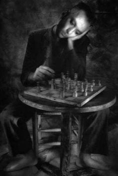 "William Ropp (Fine Art Photography)  - ""Chess Player"". ☀"