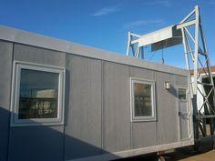 Construcción del modulo para Panedile Techint