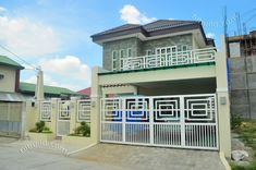 Affordable House Construction l Custom Home Design Custom Home Designs, Custom Homes, Small House Interior Design, House Design, Filipino Architecture, Two Storey House Plans, Affordable Housing, Home Builders, Parents