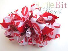 valentine bow :)