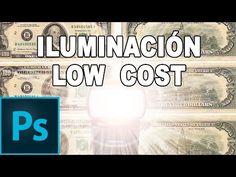 Equipo de iluminación Low Cost- Tutorial Photoshop en Español - YouTube