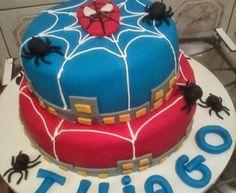 Bolo do Homem-Aranha