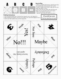 Free paper fortune teller printable templates origami fortune how to make a fun paper fortune teller i loved this when i was a pronofoot35fo Images