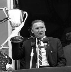 Golden Years: Man United, Celtic and Spurs - Early years in Europe Tottenham Hotspur Football Club Manager Bill Nicholson shows the European Cup Winners Cup to Spurs London Football, Tottenham Hotspur Football, Tottenham Hotspur Manager, Bill Nicholson, London Pride, Spurs Fans, White Hart Lane, European Cup, Europa League