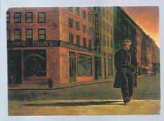 CARTE POSTALE 1980s JAMES DEAN ILLUSTRATEURS NEW YORK JEAN LAGARRIGUE NUGERON