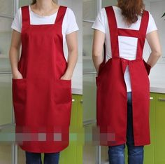 Japanese H type cotton polyester waterproof apron man woman Shop Florist members dress uniforms button aprons -in Food Service from Novelty & Special Use on Aliexpress.com | Alibaba Group