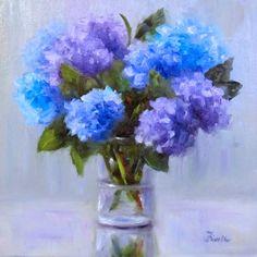 "Original Oil Painting By Artist Pat Fiorello - ""Suddenly Summer""  20 x 20   http://patfiorello.blogspot.com/2014/06/suddenly-summer.html"