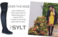 Over The Knee é a tendência mais desejada para o inverno. Adquira já a sua e não deixe de estar na moda. Botas Sylt é na Adoro Presentes.  #OverTheKnee #Sylt #AdoroPresentes #Moda #Fashion #ideias #Fashionist #Boots #Bota