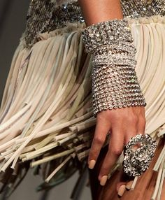 bling and fringe chic