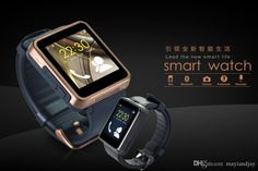 Kids Smart Watch Reviews F1 Smart Wrist Watch Waterproof With 1.55 Display Ogs Screen 1.3mp Camera Bluetooth 3.0 For Samsung S6 Edge Note 4 Black Smart Watch From Mayiandjay, $44.58