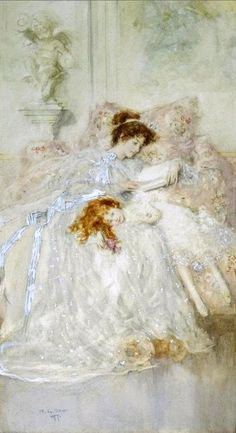 """Precious Moments - Mary Louise Gow Probably the painting that inspired Laurence Alma-Tadema's """"Lines on a Picture by Mary Gow"""" in Songs of Womanhood Reading Art, Woman Reading, Illustrations, Book Illustration, People Reading, Precious Moments, Beautiful Paintings, Oeuvre D'art, Female Art"""