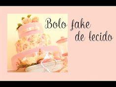 Bolo fake passo a passo - YouTube Art Festa, Popcorn Maker, Diy, Baby Shower, Neon, Youtube, Rustic Cake, How To Make Cake, Decorating Cakes